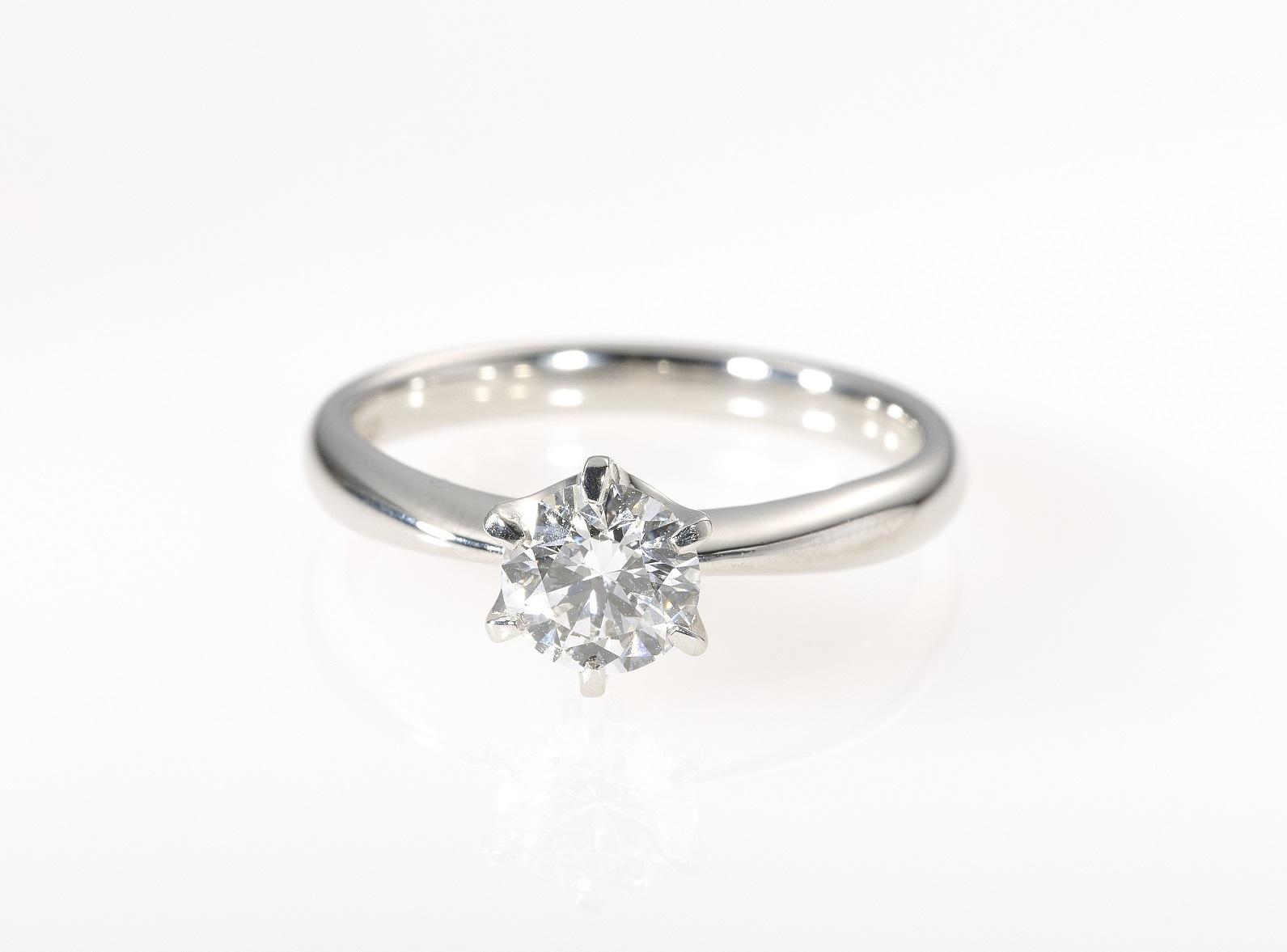 鑑定書なしのダイヤモンドリング_1